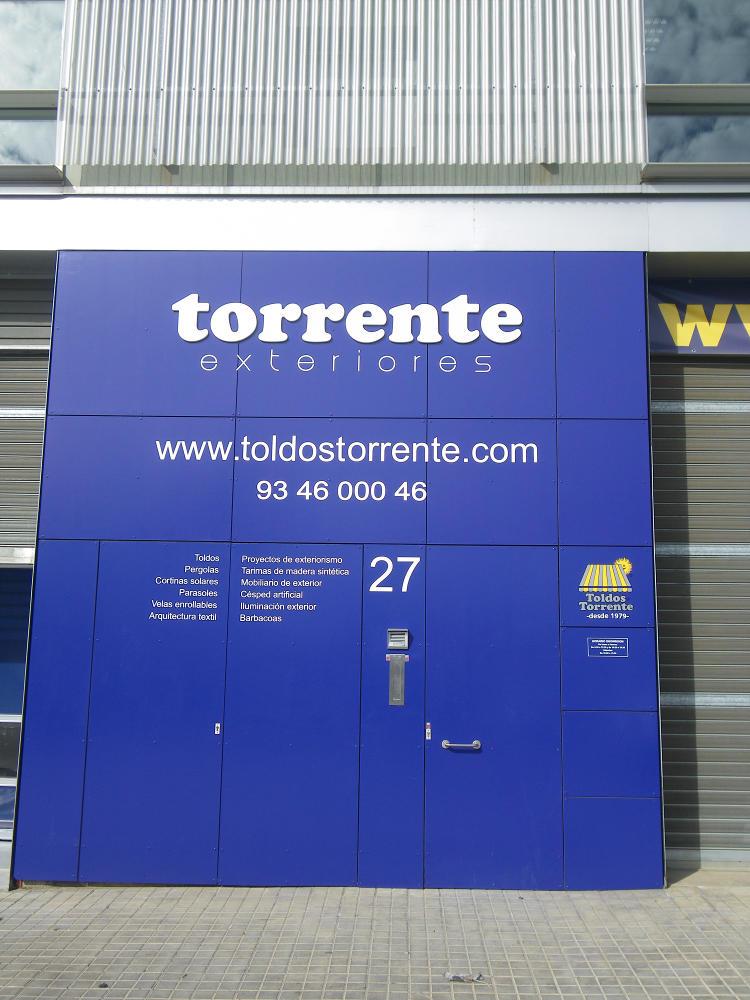 Showroom : Toldos Torrente Barcelona