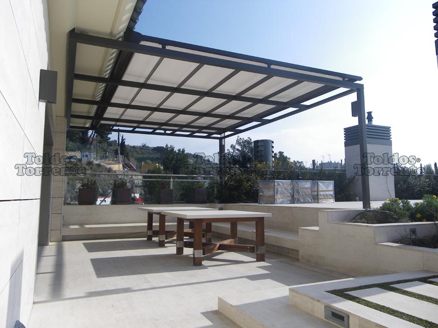 Techados para terrazas excellent techos de recintos - Techados para terrazas ...